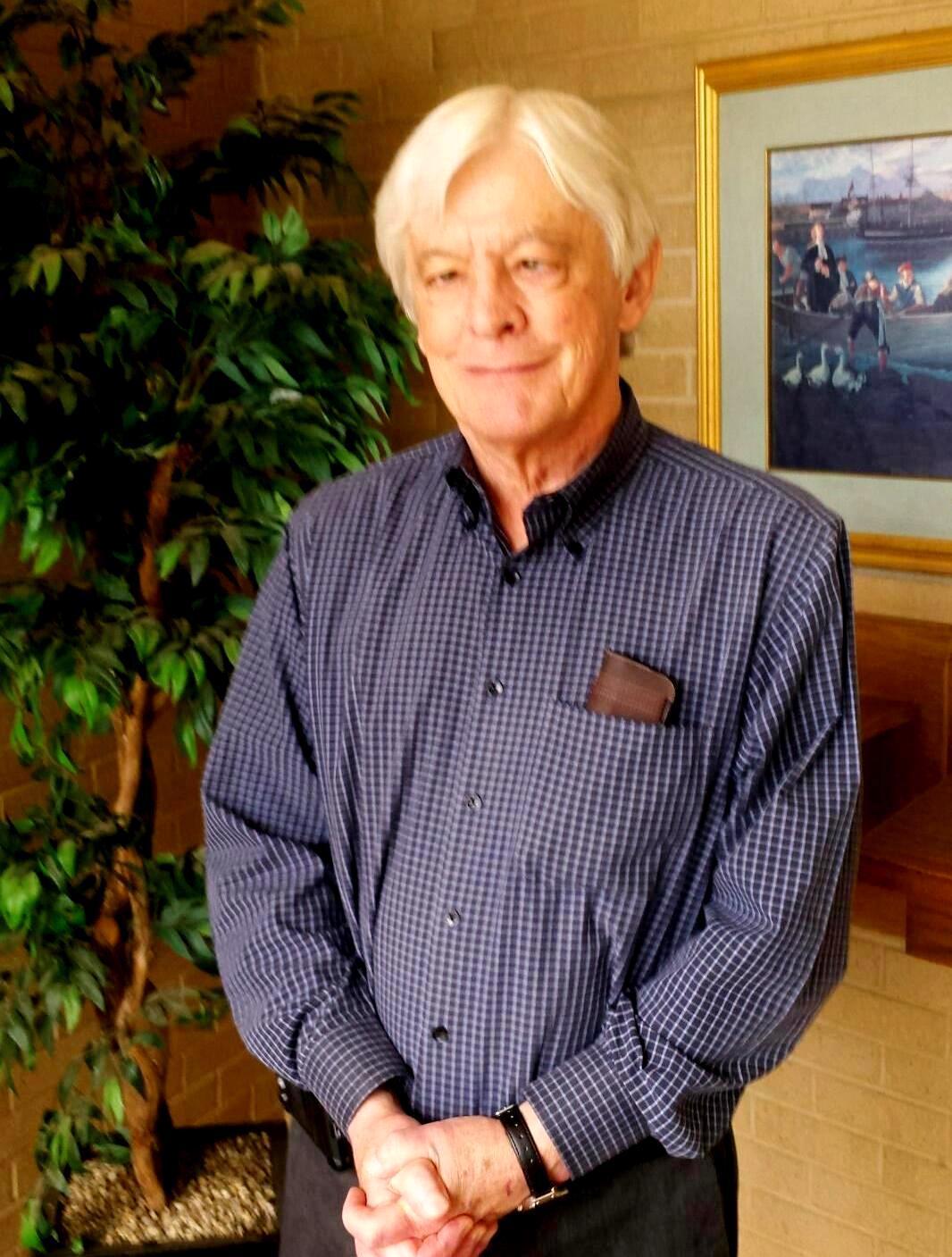 Picture of Professor Myles.