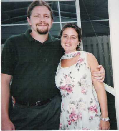 Picture of Chris & Kristen.